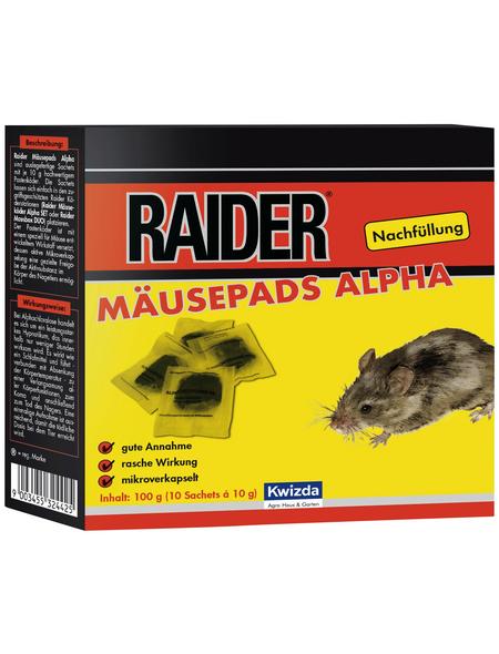 KWIZDA Köder, Raider, Nachfüllung 100 g, Mäusen