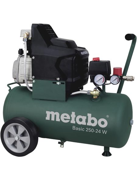 METABO Kompressor »Basic 250-24 W«, 8 bar, Max. Füllleistung: 110 l/min