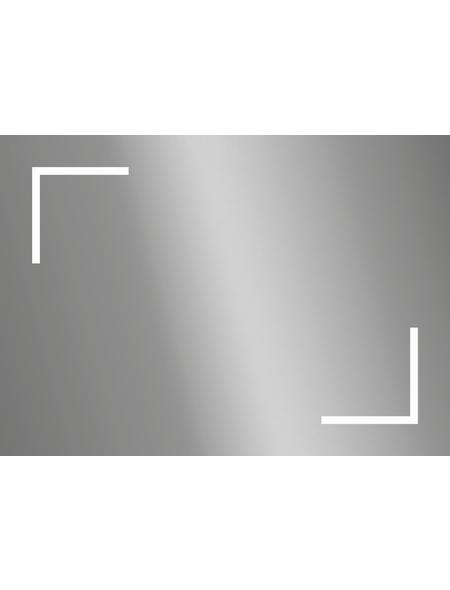 KRISTALLFORM Kosmetikspiegel, beleuchtet, BxH: 70 x 50 cm