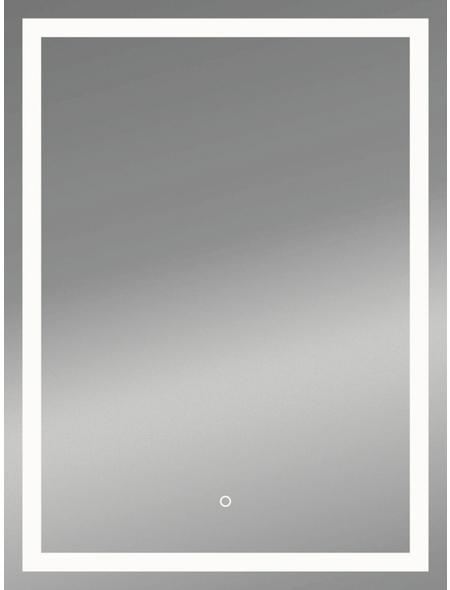 KRISTALLFORM Kosmetikspiegel »Framelight II«, beleuchtet, BxH: 50 x 70 cm