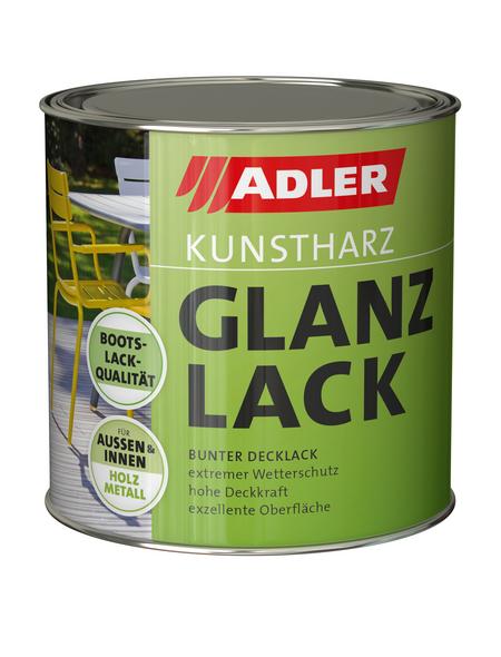 Kunstharz Glanzlack, verkehrsrot (RAL3020 EH), glänzend