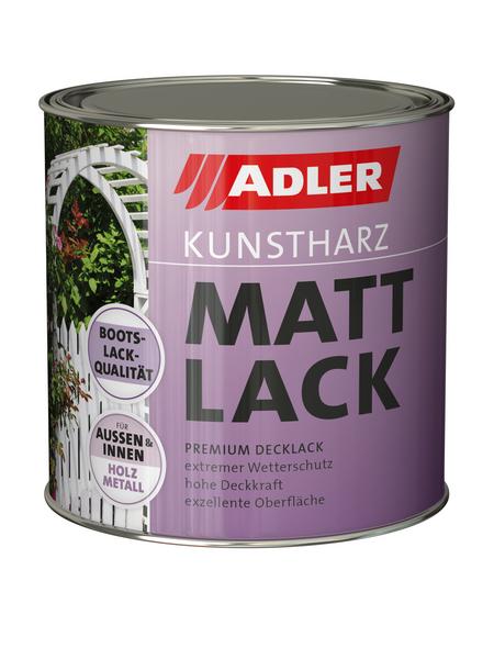 Kunstharz Mattlack, silbergrau (RAL7001), matt