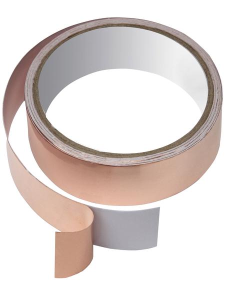 FLORAWORLD Kupferband, BxL: 3 x 500 cm, Kupfer