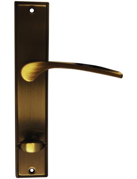 ALPERTEC Langschild-Garnitur »Nelson«, Messing