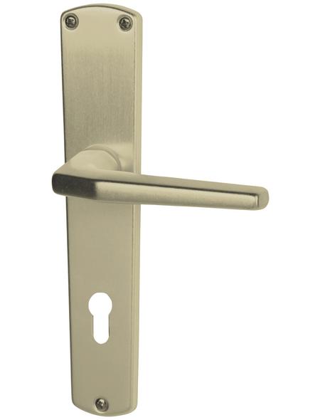 ALPERTEC Langschild-Garnitur »Phil«, Aluminium