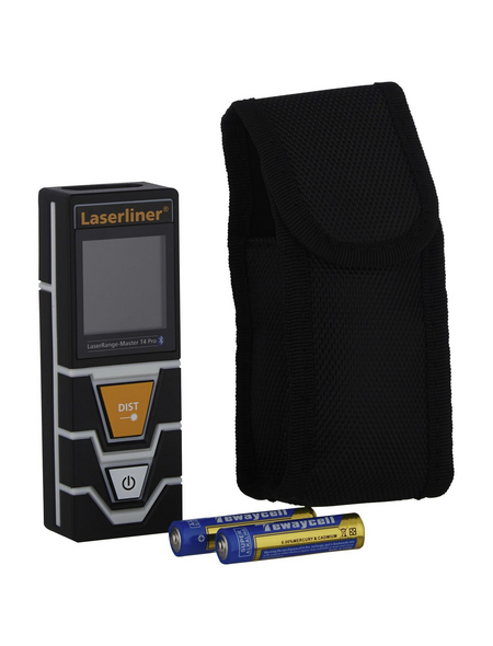 laserliner® Laser-Entfernungsmesser »LaserRange-Master«, schwarz/grau