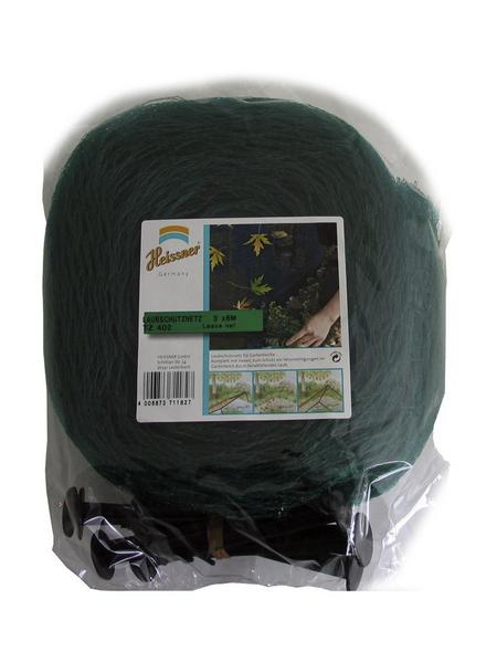 HEISSNER Laubschutznetz, grün, B x L: 300 x 600 cm