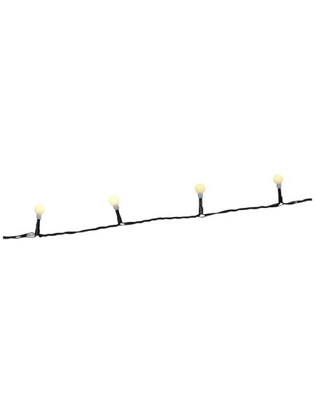 KONSTSMIDE LED-Baummantel, bernsteinfarben, Kabellänge: 10 m
