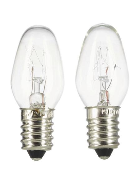 KOPP LED-Leuchtmittel, 7 W, E14, 2700 K, warmweiß, 105 lm