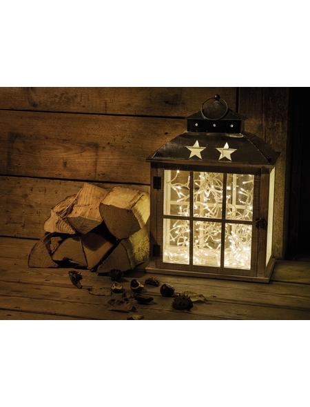 CASAYA LED-Lichterkette »LED Micro«, warmweiß, Batteriebetrieb, Kabellänge: 14,3 m