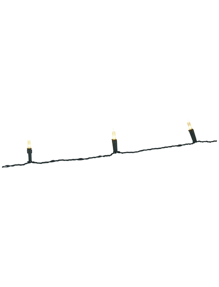 KONSTSMIDE LED-Lichterkette, warmweiß, Kabellänge: 8 m