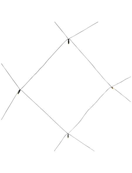 KONSTSMIDE LED-Lichternetz, 3 m mit 96 LED, warmweiß