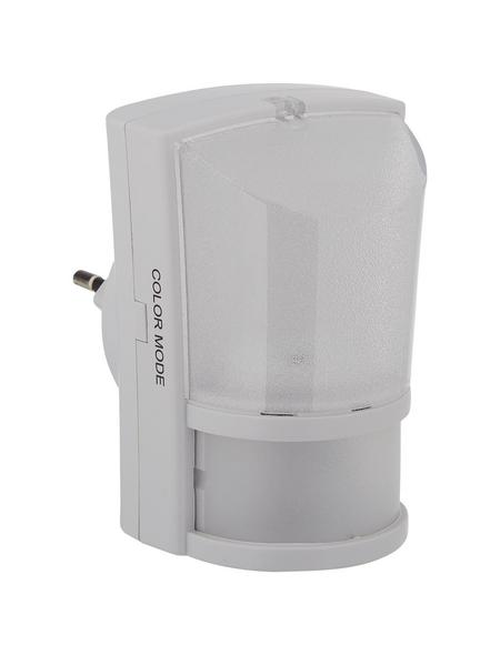 REV LED-Nachtlicht mit Dämmerungsautomatik weiß 1-flammig 0,7 W 6,4 x 9 x 5,8 cm