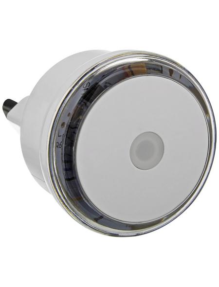 REV LED-Nachtlicht mit Dämmerungsautomatik weiß 1-flammig 0,8 W Ø 5 x 6,7 cm
