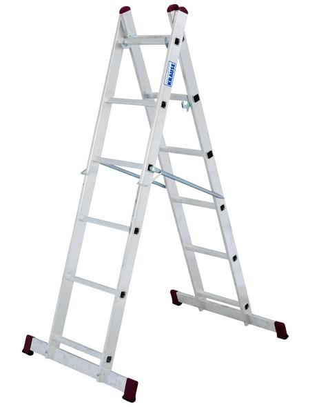 KRAUSE Leiterngerüst »CORDA«, Gerüsthöhe: 168 cm