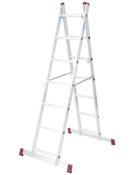 KRAUSE Leiterngerüst »CORDA«, Gerüsthöhe: 196 cm