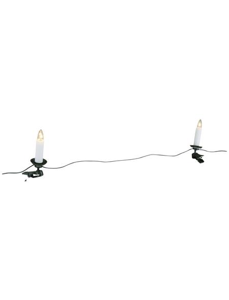 KONSTSMIDE Lichterkette, warmweiß, Kabellänge: 17,6 m