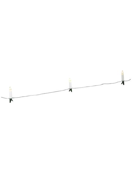 KONSTSMIDE Lichterkette, warmweiß, Netzbetrieb, Kabellänge: 8,35 m