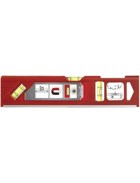 CON:P Magnetwasserwaage, Rot, 25 cm