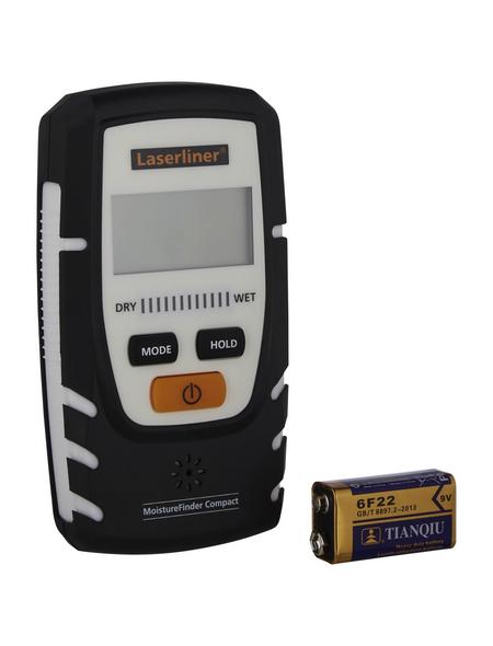 laserliner® Materialfeuchtemessgerät »MoistureFinder Compact«, weiss/schwarz