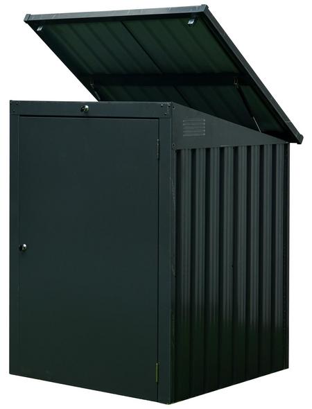 FLORAWORLD Mülltonnenbox, 104 x 134 x 101 cm (BxHxT), 1.190 Liter