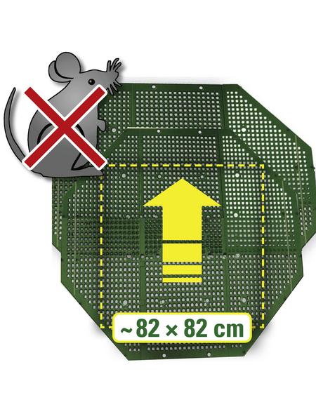 JUWEL Nagetierschutz Komposter, Kunststoff, Grün