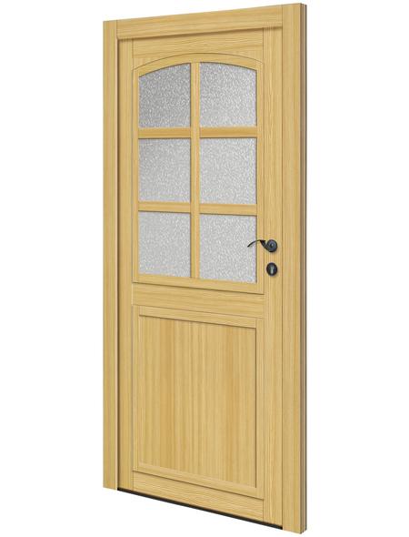 RORO Nebeneingangstür »Bern«, Holz, fichtefarben