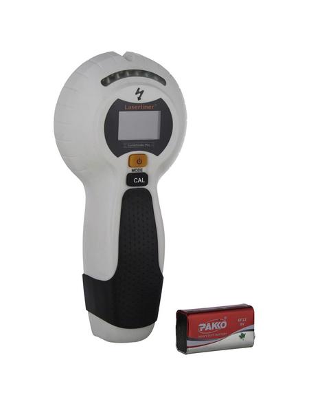 laserliner® Ortungsgerät »CombiFinder Plus«, schwarz/weiss