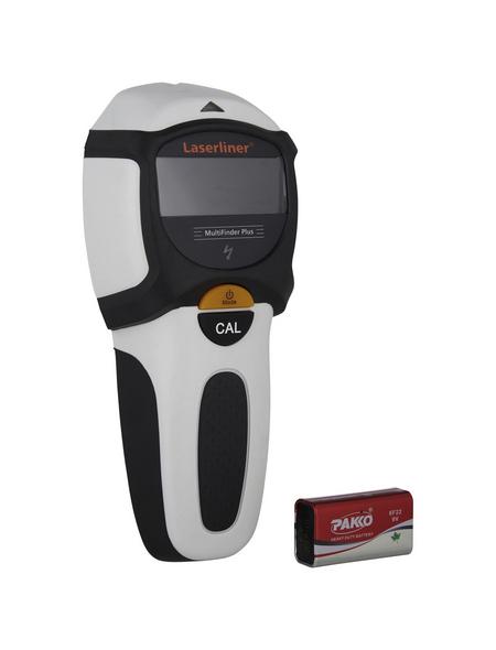 laserliner® Ortungsgerät »MultiFinder Plus«, schwarz/weiss