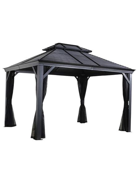 SOJAG Pavillon »Mykonos«, rechteckig, BxHxT: 425 x 291 x 299 cm