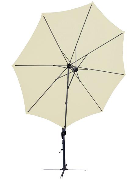 CASAYA Pendelschirm »Fane«, ØxH: 150 x 258 cm, Sonnenschutzfaktor: 50+