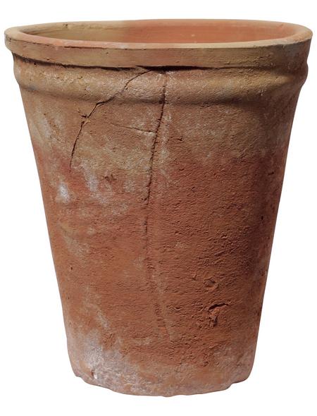 Kirschke Pflanzgefäß »Altea«, ØxH: 19 x 23 cm, terrakottafarben