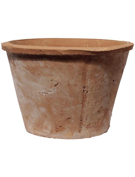 Kirschke Pflanzgefäß »Braga«, ØxH: 15 x 11 cm, terrakottafarben