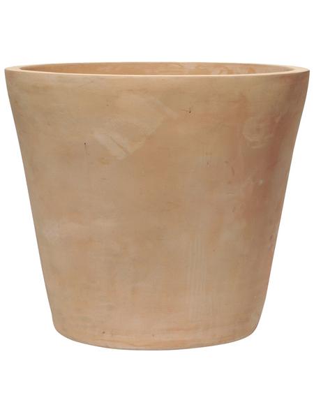 Kirschke Pflanzgefäß »ENZO«, ØxH: 21 x 18 cm, terrakottafarben