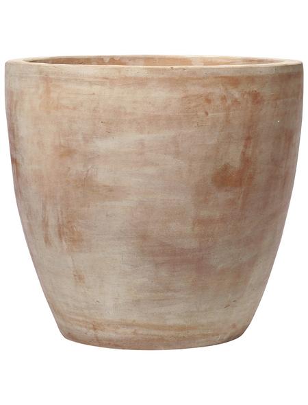 Kirschke Pflanzgefäß »GIANNA«, ØxH: 47 x 39 cm, terrakottafarben