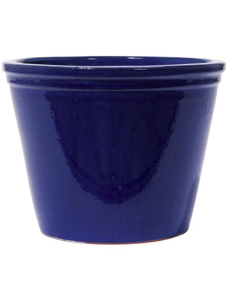 Kirschke Pflanzgefäß »Lemgo«, ØxH: 25 x 20 cm, blau