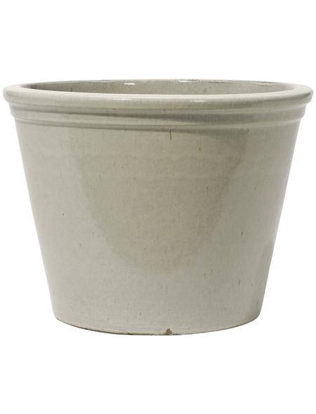 Kirschke Pflanzgefäß »Lemgo«, ØxH: 30 x 25 cm, creme