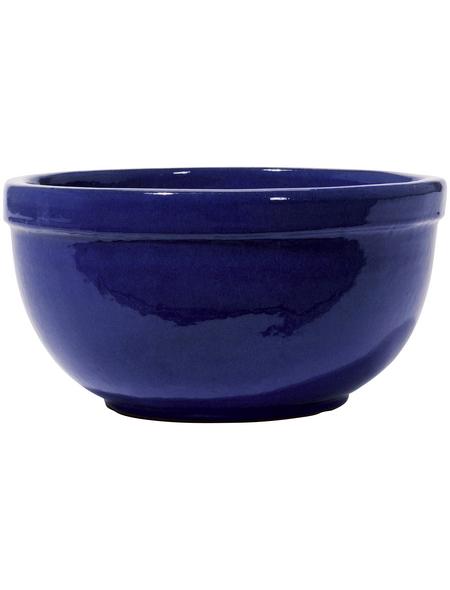 Kirschke Pflanzschale »Löhne«, ØxH: 30 x 17 cm, blau