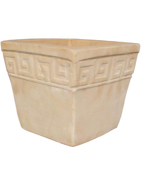 SILEX Pflanztopf, BxHxT: 20 x 18 x 2 cm, terrakottafarben