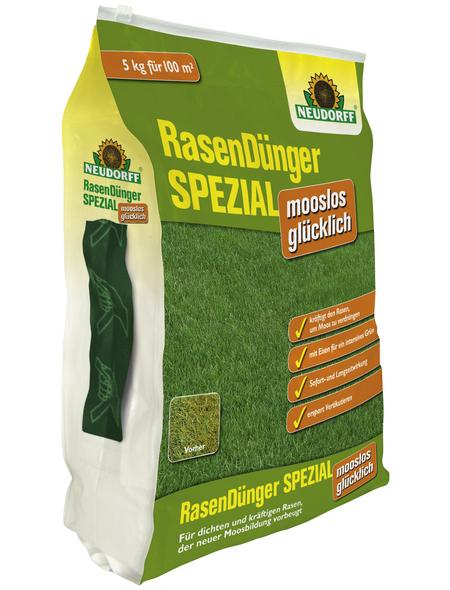NEUDORFF Rasen Dünger SPEZIAL mooslos glücklich 5 kg