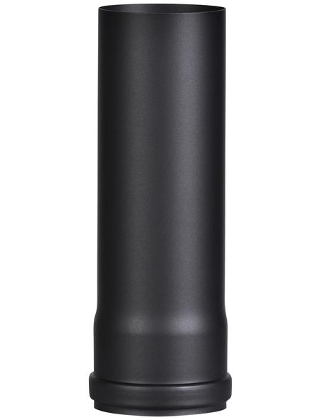FIREFIX® Rauchrohr, ØxL: 8 x 25 cm, Stärke: 1,2 mm, Stahl