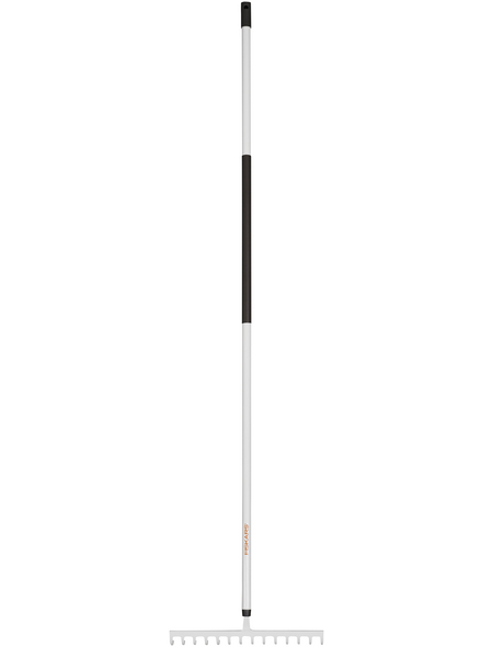 FISKARS Rechen »Light«, Arbeitsbreite: 36 cm, weiss/schwarz