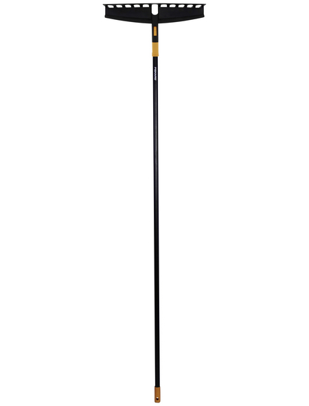 FISKARS Rechen »Solid«, Arbeitsbreite: 41 cm, schwarz/orange
