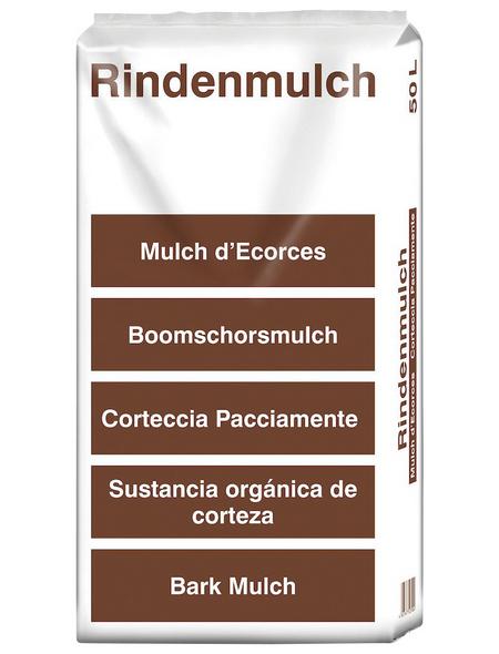 Rindenmulch, 1 Beutel, braun