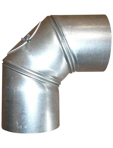 FIREFIX® Rohrbogen, Ø: 12 cm, Stärke: 0,6 mm, Stahl