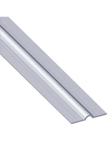 alfer® aluminium Rohrschelle »Combitech«, BxHxL: 41,5 x 11.5 x 1000 mm