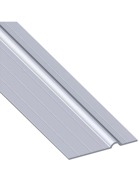 alfer® aluminium Rohrschelle »Combitech«, BxHxL: 65,5 x 11.5 x 1000 mm