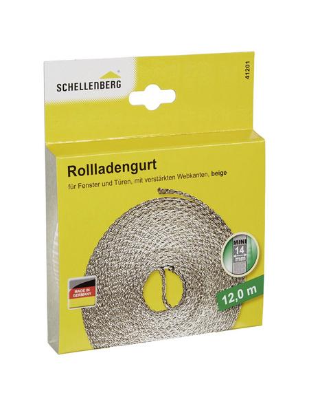 SCHELLENBERG Rolladengurt, Länge 12 m, Breite 14 mm
