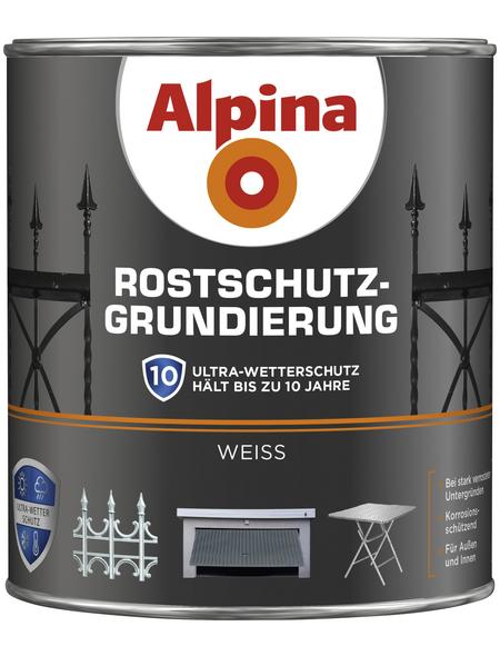 alpina Rostschutzgrundierung, weiß , seidenmatt