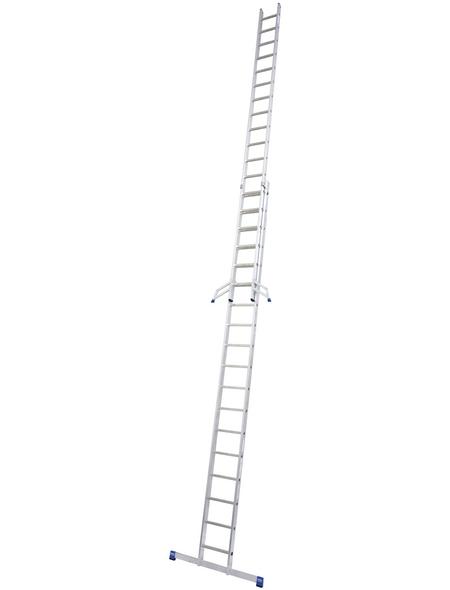 KRAUSE Schiebeleiter »STABILO«, 36 Sprossen, Aluminium